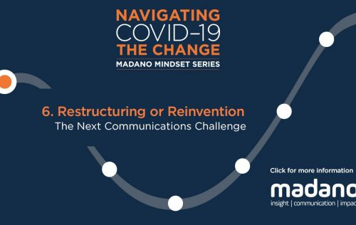 Restructuring or Reinvention – The Next Communications Challenge